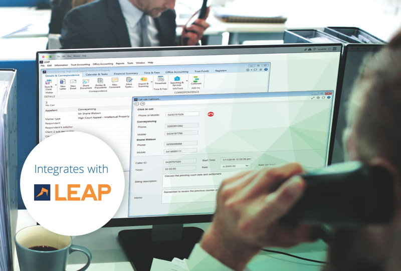 CallSmart was developed exclusively for law firms by Boab IT, the largest IT provider for law firms in Australia.
