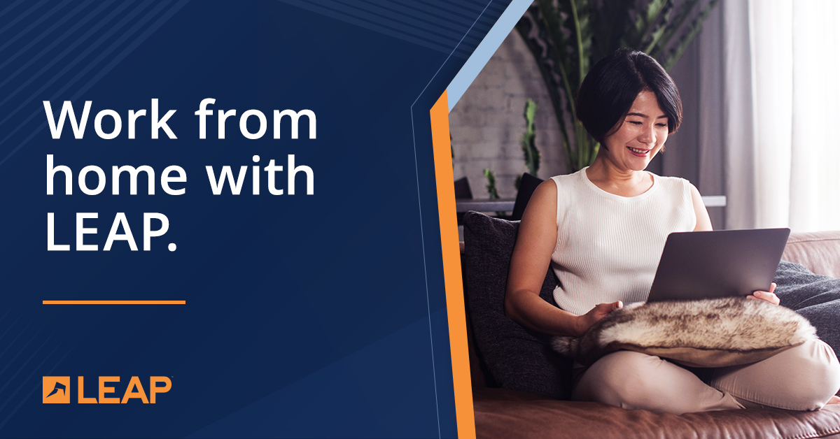 LEAP is the best system for lawyers and staff to work from home | LEAP Legal Software-LEAP's cloud-based practice management system means you can take advantage of integrated matter management, document automation and legal accounting from any where and at any time.-www.qlsproctor.com.au