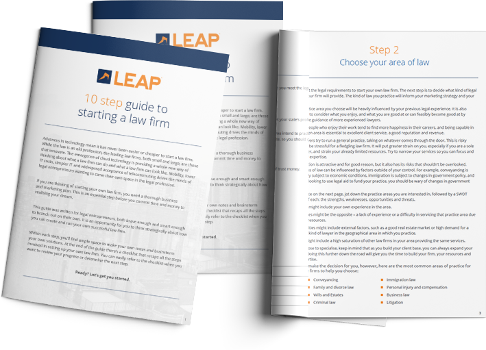 Start A Law Firm - Download your FREE guide